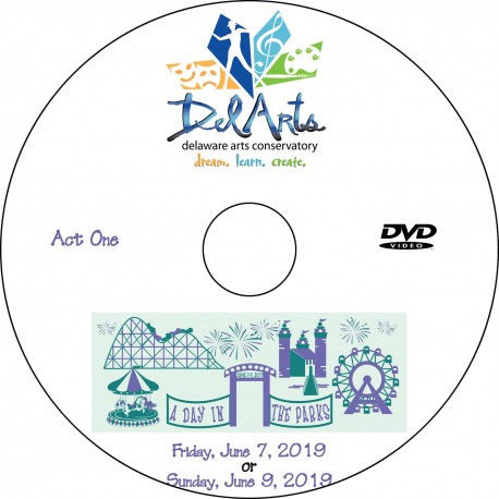 "Delaware Arts Conservatory ""Recital 2019,"" Show 1 (Friday, June 7) & Show 2 (Sunday, June 9) DVDs / Blu-rays"