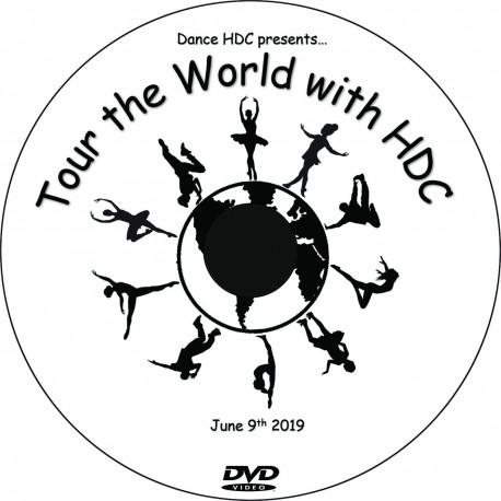 "Dance HDC ""2019 Performances,"" Sunday, June 9, 2018, 1:00, 4:00 & Combo Show DVD / Blu-ray"