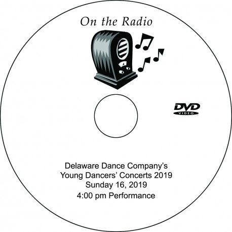 "Delaware Dance Company ""2019 School Concerts,"" Sunday, June 16, 2019, 1:00 & 4:00 Shows DVD / Blu-ray"