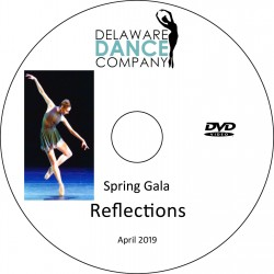 "Delaware Dance Company ""Spring Gala,"" Sunday, April 7, 2019 DVD / Blu-ray"