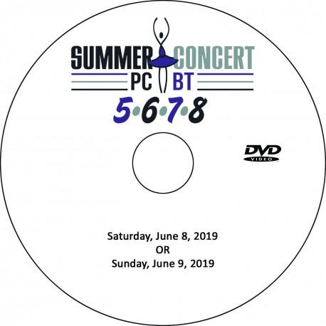 "Providence Creek Ballet Theater ""Summer Concert 2019,"" Saturday & Sunday, June 15 & 16, 2019 DVD / Blu-ray"