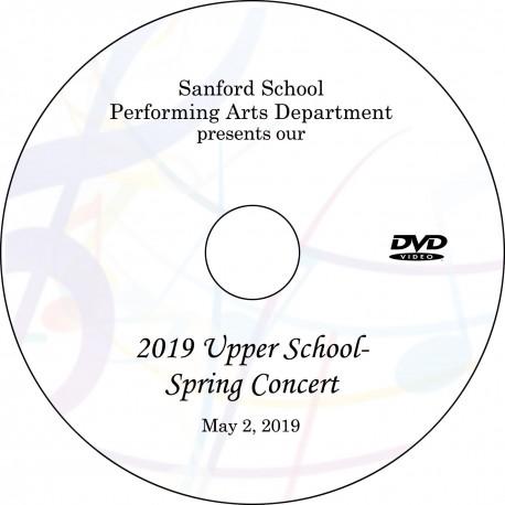 Sanford School: Upper School Spring Concert, Thursday, May 2, 2019 DVD / Blu-ray