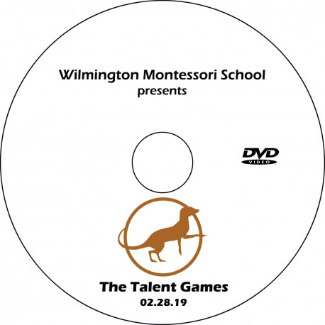 "Wilmington Montessori School ""9-12 Talent Show,"" Thursday, February 21, 2019 Evening Show DVD / Blu-ray"