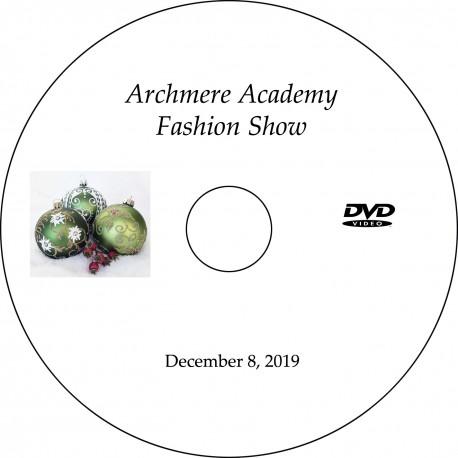 Archmere Academy Fashion Show, December 8, 2019