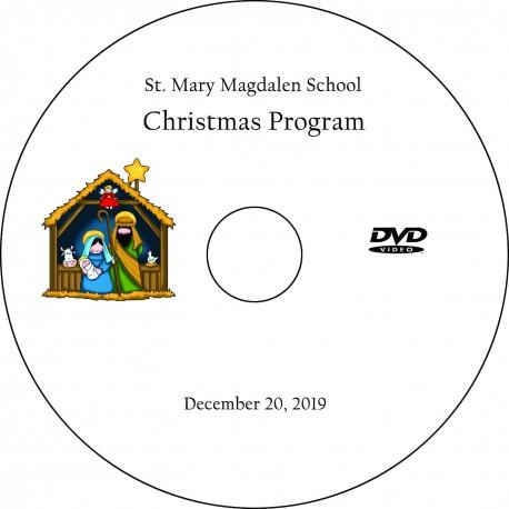 "Saint Mary Magdalen School ""Christmas Program,"" December 20, 2019 8:15 Show"